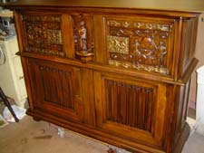 Cabinet refurb after